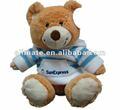 Funny animal de peluche, la graduación del oso de peluche& de juguete de felpa