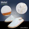 novo design de moda de algodão hotel chinelo