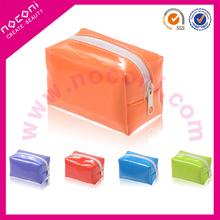 NOCONI colourful easy to use promotion cosmetic small brush bag/kabuki bag
