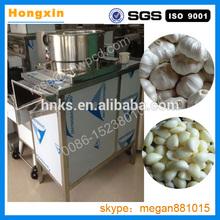 stainless steel automatic storing garlic peeling machine india