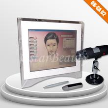 Skin analyzer for wood lamp skin analyzer