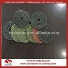 Granite diamond polishing pads