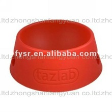 2012 fashion Silicone Dog Plates rubber portable doggie dish