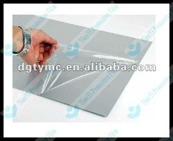 mirror covering plastic film