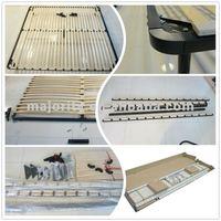 slat bed base - mattress support frame -- metal bed base