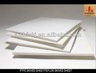 White plastic sheet(teflon,ptfe sheet)