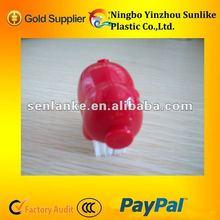 ABS pig shaped plastic nail brush