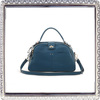 Lady fashion lock handbags genuine leather