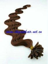 "18"",body wave/u-tip hair extension,pro-bonded u-tip hair extension"