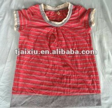 Used clothing T- shirts for children second hand clothes