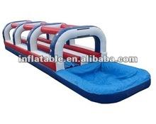 2014 Summer Double Lane Inflatable Slip N Dip Inflatable Water Slide