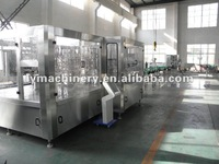 Monoblock carbonated drink filling machine pet or glass bottle gas/aerated drink carbonated drink filling machine/bottling line