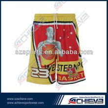 custom professional printing basketball short