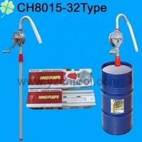 Aluminum pipe / PP impeller rotary hand oil pump/hand pump CH8015