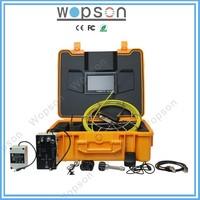 Video camera for drain tube inspection