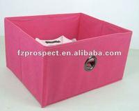 metal eyelet tote folding decorate storage bins
