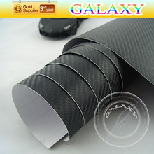 hot selling 3d vinyl film car body self achivse vinyl black