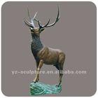 Cilty Brass Or Bronze Animal Sculpture