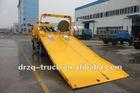 Dongfeng 4*2 towing platform wrecker/towing truck