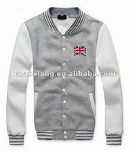 new season professional men's fashion hoodies Fleecy Baseball Jacket