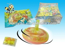 Spinning top Toy with Pressed Candy