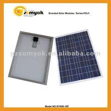 80w 18v poly solar panel price