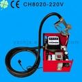 12v bomba eléctrica para aceite con medidor de transferencia 12v