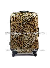 leopard luggage/suitcase/laptop bags supplier