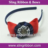 School Grosgrain Ribbon Hair Band