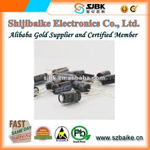 2.2uF 250V Aluminum Electrolytic Capacitor