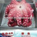 والأخطبوط IQF زهرة المجمدة المطبوخة