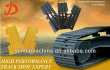 excavator steel and rubber track /track shoe /track pad Komatsu,Hitachi,Kobelco