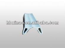 Light gray EPDM rubber seal strip