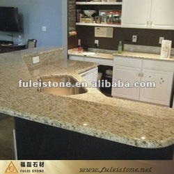 absolute tropical yellow granite countertops