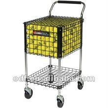 Rolling 325 Tennis Ball Brute Teaching Cart