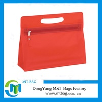 2014 wholesale promotional mini wash bag lady bag clear vinyl cosmetic bag