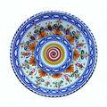 personnalisé style espagnol en céramique plaque de tapas