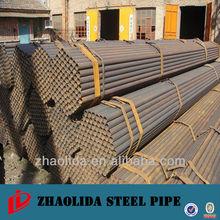 ERW steel pipe /round tube
