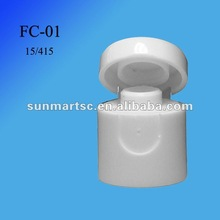15/415 FC-01 COSMETIC SCREW CAP/ FLIP TOP CAP