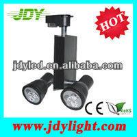 6*1W LED spot tracking light 6W 30degrees IP62 Level