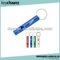 Key Ring Aluminum Safety Whistle