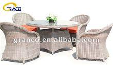 Granco KAL027 modern courtyard rattan dining set