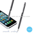 Cross pen with touch stylus on the top 2 in 1 metal ballpen