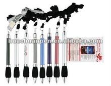 6019 popular flyer pen with lanyard,banner pen,flag pen