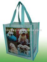 2014 laminated photo print shopping bag