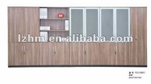 Wood Wall Units With Book Shelf And Glass Doors,Combination Wood Wardrobe YC-LWG02 & LWH02 & LWJ02 & LWP02