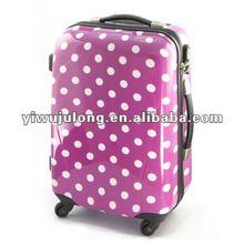 fashion Mei red dot trolley luggage