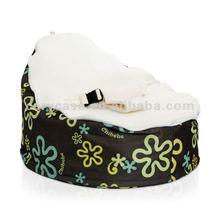 Hippy Daze Cream baby floor sofa,multifunction baby beanbag chair and seat