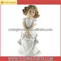 Colección de porcelana muñecas ángel para decoración de la boda y regalos