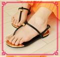 Sandalias Planas De Moda 2015 Para Chicas Mujeres Zapatos Planos Sandalias XT-shp25